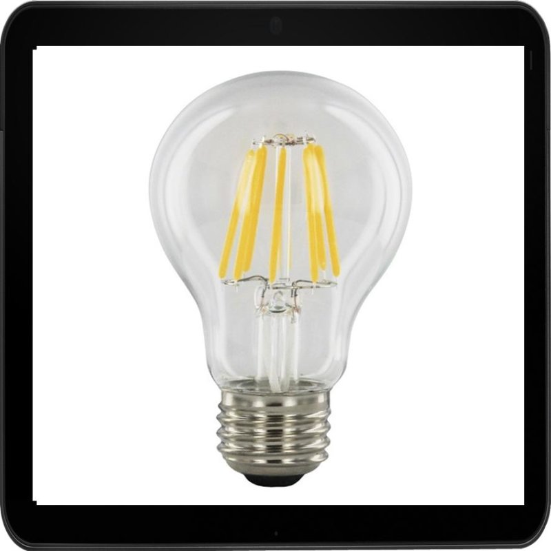8 watt faden filament led birne e27 warmwei 2700 k. Black Bedroom Furniture Sets. Home Design Ideas
